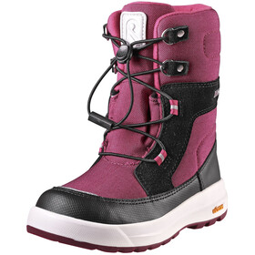 Reima Laplander Winter Boots Kids dark berry